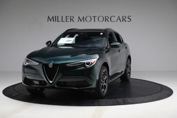 New 2021 Alfa Romeo Stelvio Ti Sport Q4 for sale $58,500 at Maserati of Greenwich in Greenwich CT 06830 1