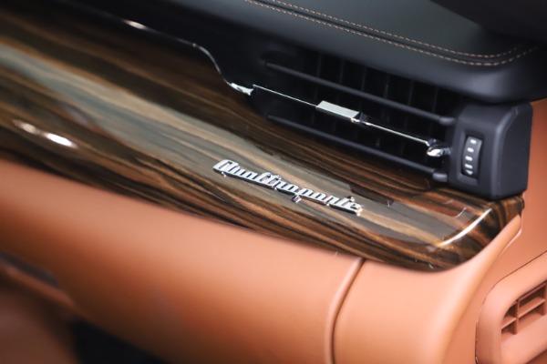 New 2021 Maserati Quattroporte S Q4 GranLusso for sale $129,135 at Maserati of Greenwich in Greenwich CT 06830 21