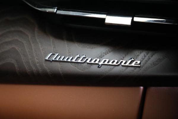 New 2021 Maserati Quattroporte S Q4 GranLusso for sale $120,599 at Maserati of Greenwich in Greenwich CT 06830 22