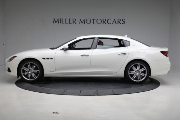 New 2021 Maserati Quattroporte S Q4 GranLusso for sale $120,599 at Maserati of Greenwich in Greenwich CT 06830 3