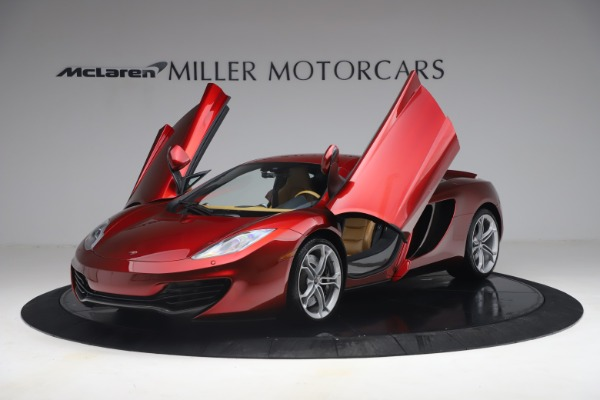 Used 2012 McLaren MP4-12C for sale Call for price at Maserati of Greenwich in Greenwich CT 06830 13