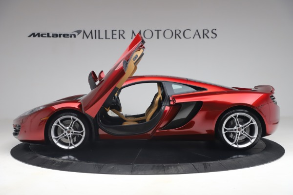 Used 2012 McLaren MP4-12C for sale Call for price at Maserati of Greenwich in Greenwich CT 06830 14