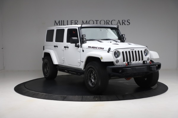Used 2015 Jeep Wrangler Unlimited Rubicon Hard Rock for sale $39,900 at Maserati of Greenwich in Greenwich CT 06830 11