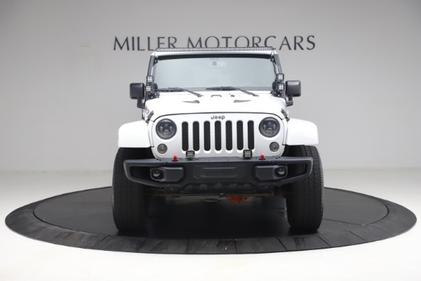 Used 2015 Jeep Wrangler Unlimited Rubicon Hard Rock for sale $39,900 at Maserati of Greenwich in Greenwich CT 06830 12