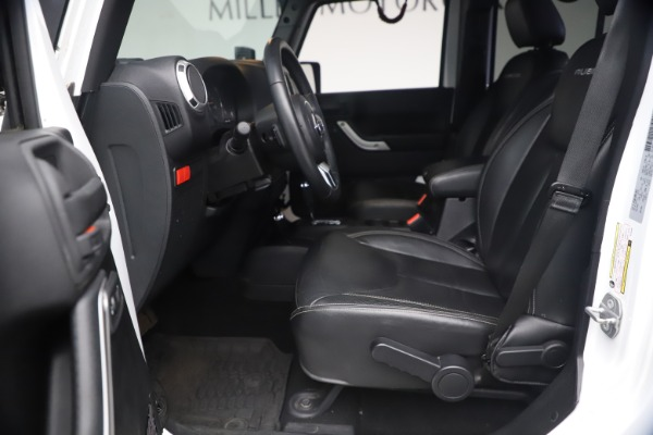 Used 2015 Jeep Wrangler Unlimited Rubicon Hard Rock for sale $39,900 at Maserati of Greenwich in Greenwich CT 06830 15