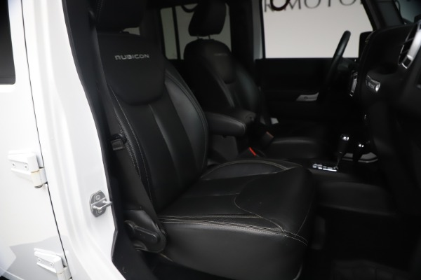 Used 2015 Jeep Wrangler Unlimited Rubicon Hard Rock for sale $39,900 at Maserati of Greenwich in Greenwich CT 06830 19