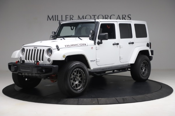 Used 2015 Jeep Wrangler Unlimited Rubicon Hard Rock for sale $39,900 at Maserati of Greenwich in Greenwich CT 06830 2