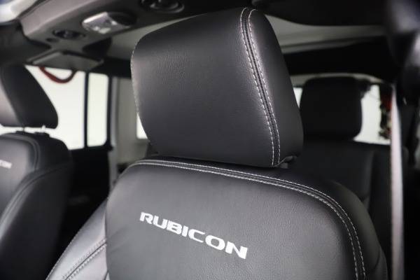 Used 2015 Jeep Wrangler Unlimited Rubicon Hard Rock for sale $39,900 at Maserati of Greenwich in Greenwich CT 06830 26
