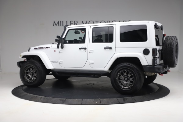 Used 2015 Jeep Wrangler Unlimited Rubicon Hard Rock for sale $39,900 at Maserati of Greenwich in Greenwich CT 06830 4