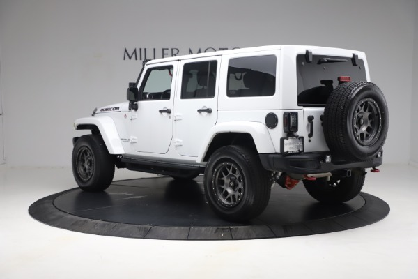 Used 2015 Jeep Wrangler Unlimited Rubicon Hard Rock for sale $39,900 at Maserati of Greenwich in Greenwich CT 06830 5