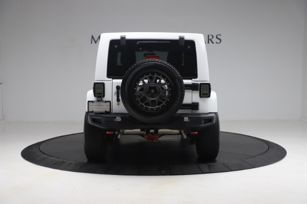 Used 2015 Jeep Wrangler Unlimited Rubicon Hard Rock for sale $39,900 at Maserati of Greenwich in Greenwich CT 06830 6