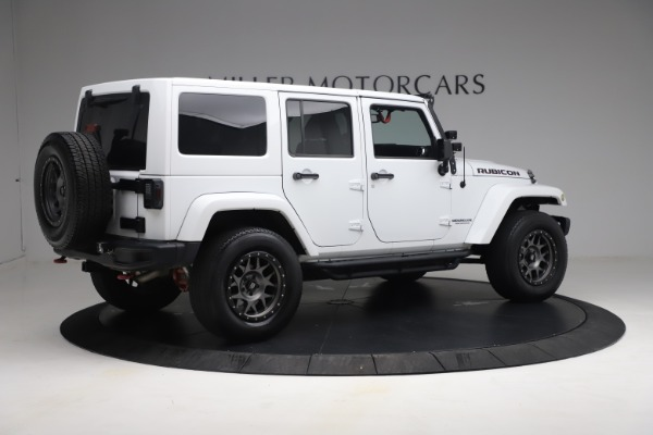 Used 2015 Jeep Wrangler Unlimited Rubicon Hard Rock for sale $39,900 at Maserati of Greenwich in Greenwich CT 06830 8