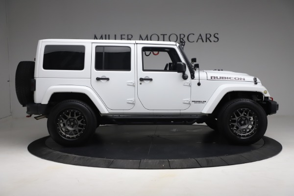 Used 2015 Jeep Wrangler Unlimited Rubicon Hard Rock for sale $39,900 at Maserati of Greenwich in Greenwich CT 06830 9