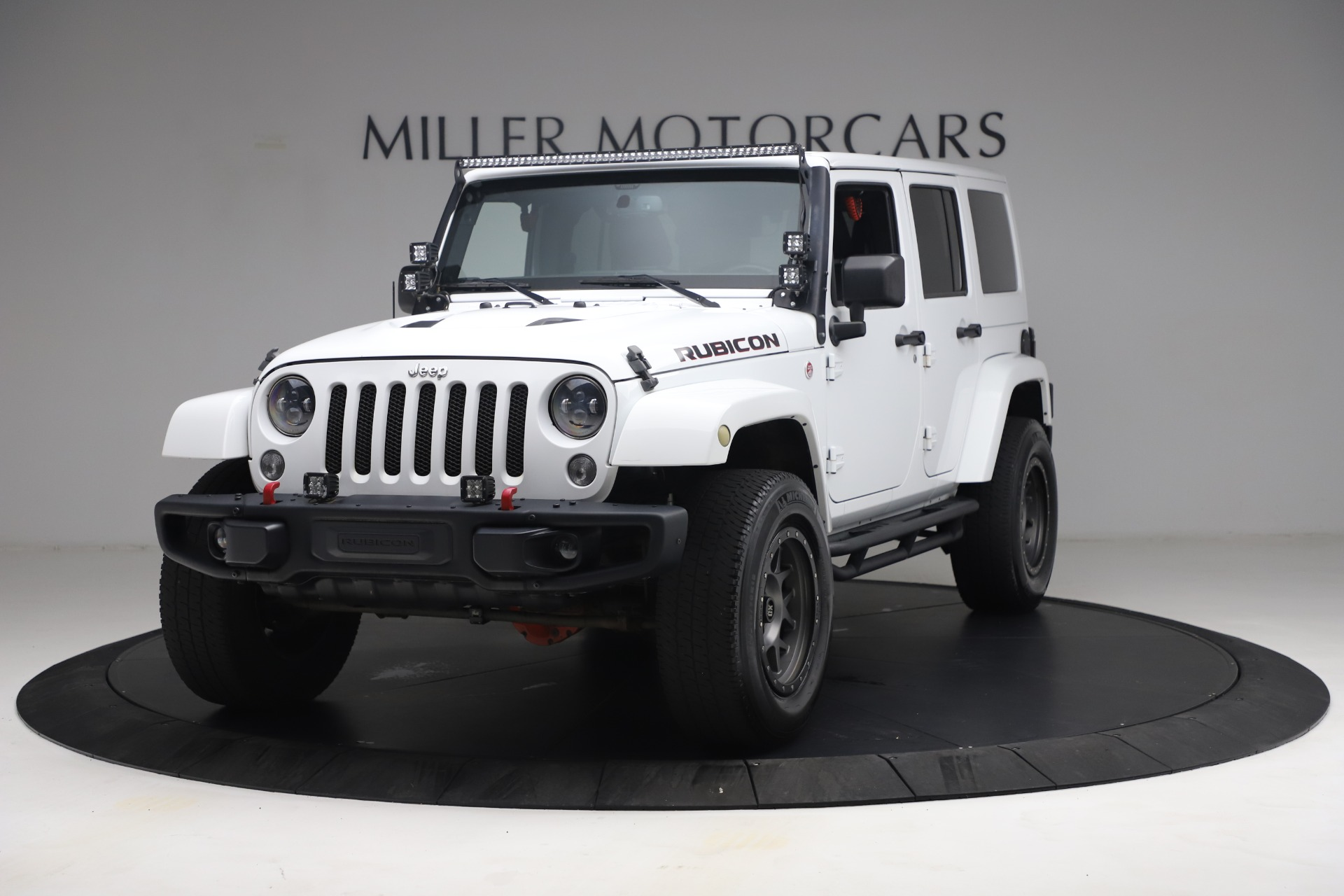 Used 2015 Jeep Wrangler Unlimited Rubicon Hard Rock for sale $39,900 at Maserati of Greenwich in Greenwich CT 06830 1