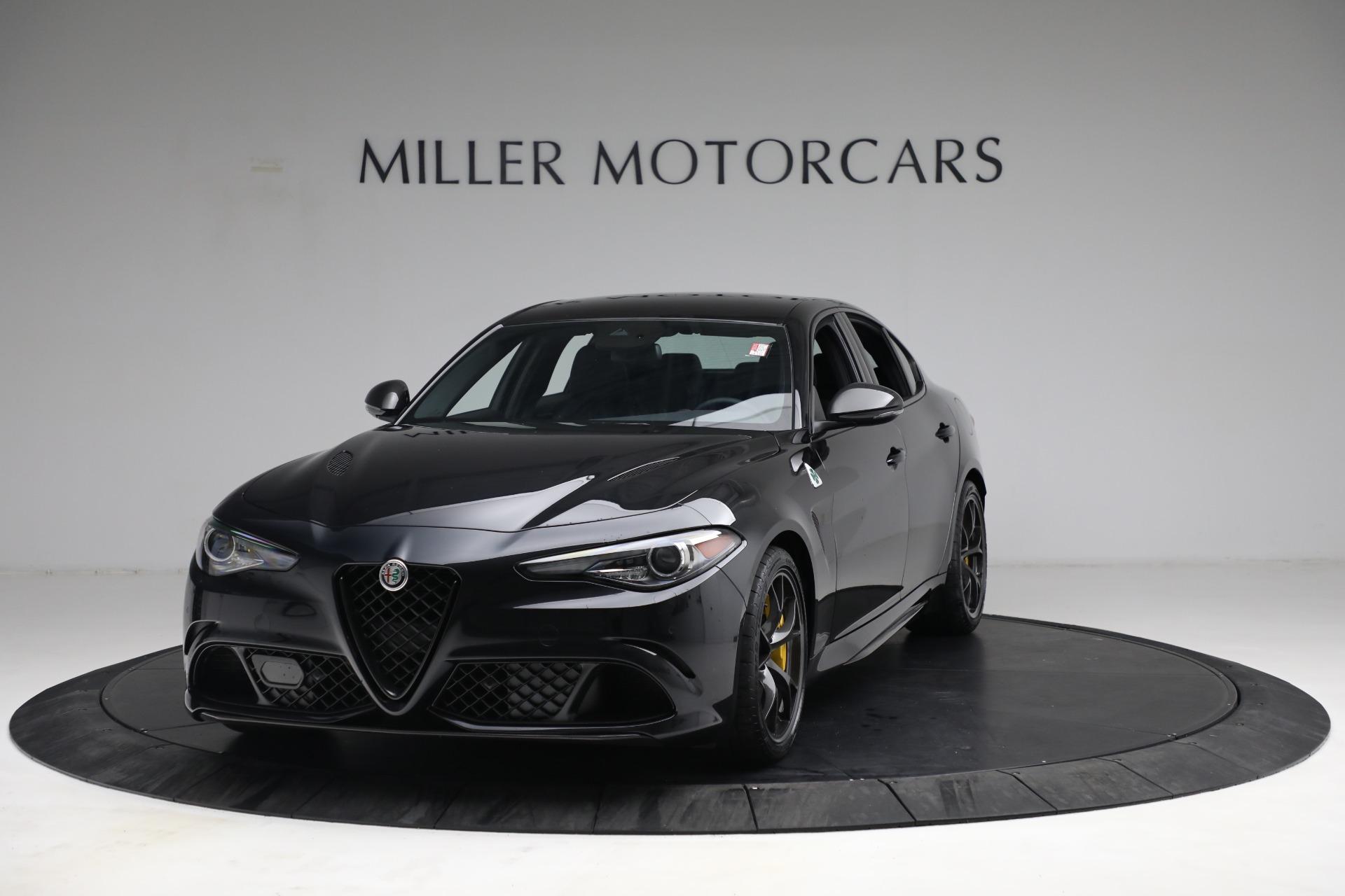 New 2021 Alfa Romeo Giulia Quadrifoglio for sale $81,505 at Maserati of Greenwich in Greenwich CT 06830 1