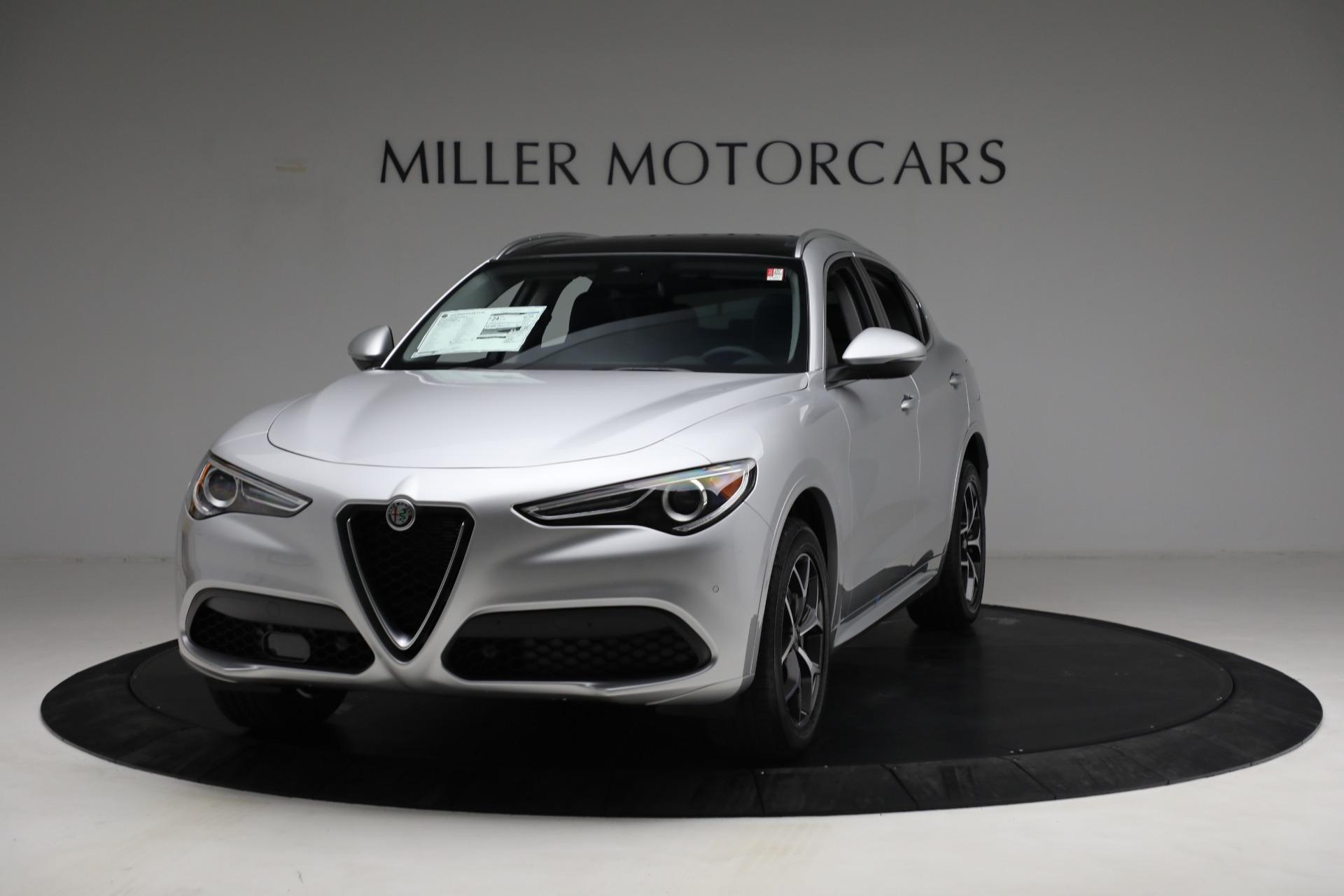 New 2021 Alfa Romeo Stelvio Ti Q4 for sale $50,505 at Maserati of Greenwich in Greenwich CT 06830 1