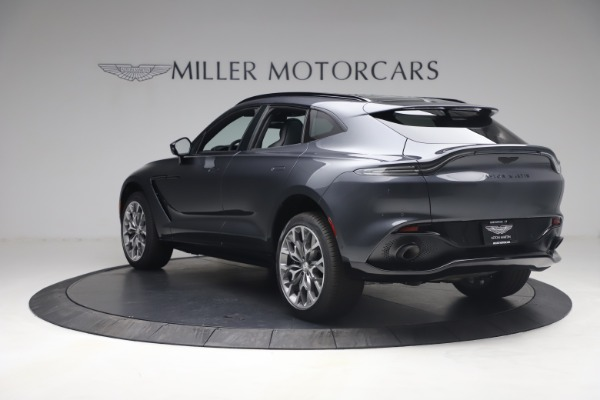 New 2021 Aston Martin DBX for sale $208,786 at Maserati of Greenwich in Greenwich CT 06830 4