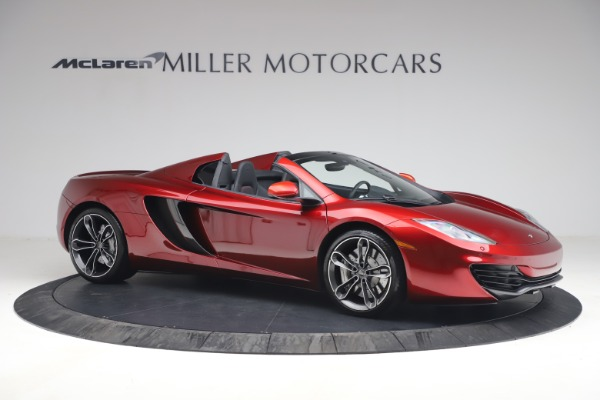 Used 2013 McLaren MP4-12C Spider for sale $134,900 at Maserati of Greenwich in Greenwich CT 06830 10