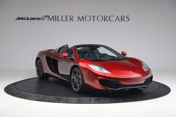 Used 2013 McLaren MP4-12C Spider for sale $134,900 at Maserati of Greenwich in Greenwich CT 06830 11