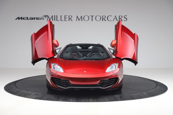 Used 2013 McLaren MP4-12C Spider for sale $134,900 at Maserati of Greenwich in Greenwich CT 06830 13