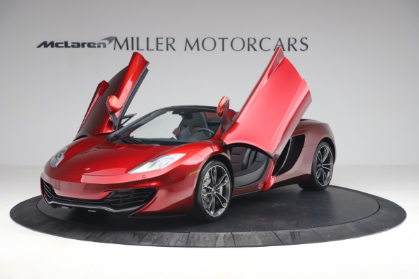 Used 2013 McLaren MP4-12C Spider for sale $134,900 at Maserati of Greenwich in Greenwich CT 06830 14