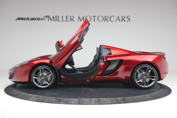 Used 2013 McLaren MP4-12C Spider for sale $134,900 at Maserati of Greenwich in Greenwich CT 06830 15