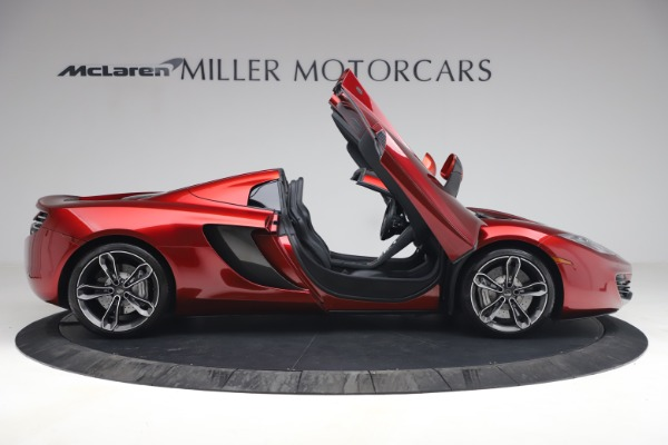 Used 2013 McLaren MP4-12C Spider for sale $134,900 at Maserati of Greenwich in Greenwich CT 06830 19