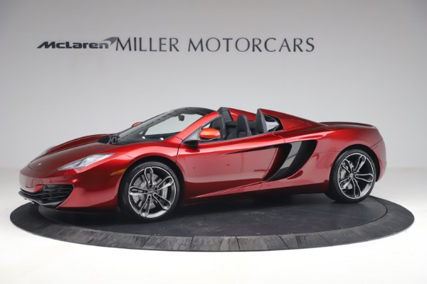 Used 2013 McLaren MP4-12C Spider for sale $134,900 at Maserati of Greenwich in Greenwich CT 06830 2