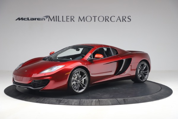 Used 2013 McLaren MP4-12C Spider for sale $134,900 at Maserati of Greenwich in Greenwich CT 06830 23