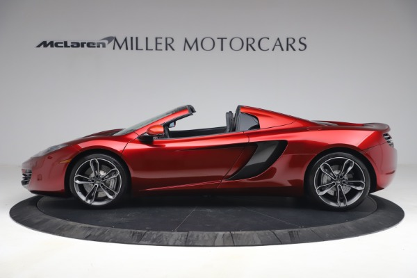 Used 2013 McLaren MP4-12C Spider for sale $134,900 at Maserati of Greenwich in Greenwich CT 06830 3