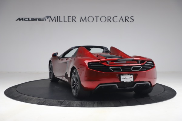 Used 2013 McLaren MP4-12C Spider for sale $134,900 at Maserati of Greenwich in Greenwich CT 06830 5