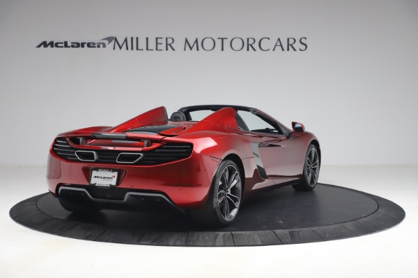 Used 2013 McLaren MP4-12C Spider for sale $134,900 at Maserati of Greenwich in Greenwich CT 06830 7