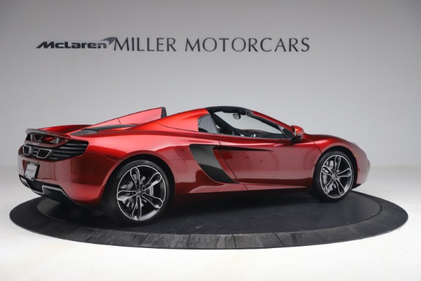 Used 2013 McLaren MP4-12C Spider for sale $134,900 at Maserati of Greenwich in Greenwich CT 06830 8