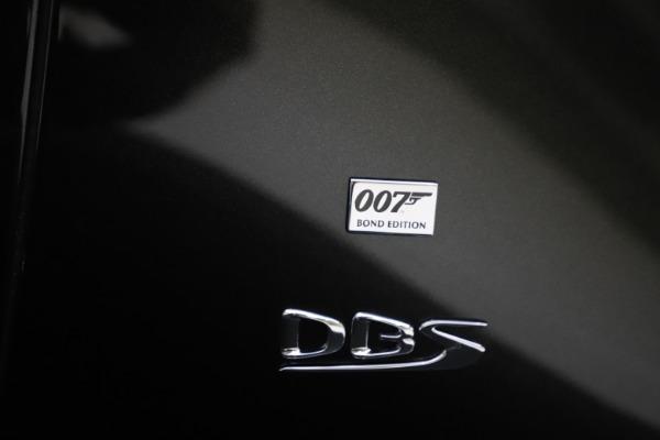 New 2021 Aston Martin DBS Superleggera 007 for sale $391,211 at Maserati of Greenwich in Greenwich CT 06830 26