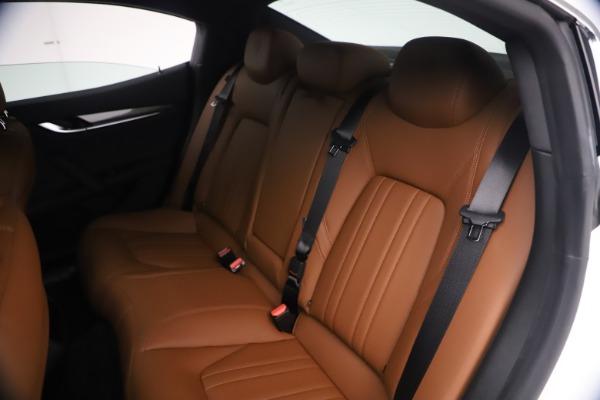 New 2021 Maserati Ghibli SQ4 for sale $85,804 at Maserati of Greenwich in Greenwich CT 06830 21