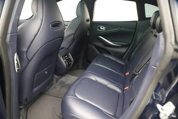 New 2021 Aston Martin DBX for sale $195,786 at Maserati of Greenwich in Greenwich CT 06830 18