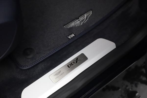 New 2021 Aston Martin DBX for sale $195,786 at Maserati of Greenwich in Greenwich CT 06830 24