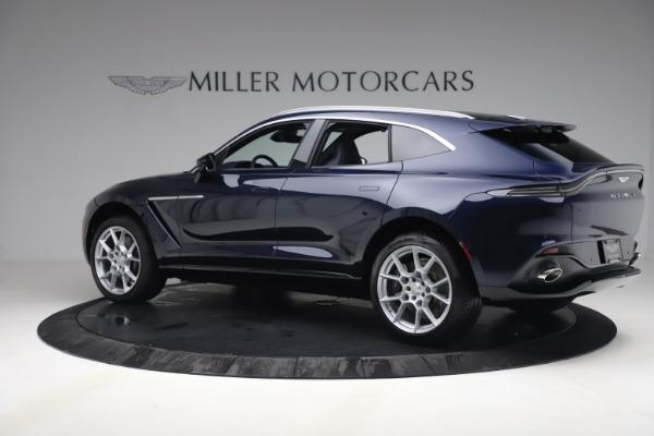 New 2021 Aston Martin DBX for sale $195,786 at Maserati of Greenwich in Greenwich CT 06830 3