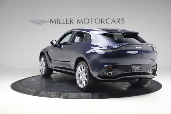 New 2021 Aston Martin DBX for sale $195,786 at Maserati of Greenwich in Greenwich CT 06830 4