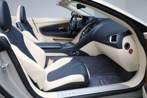 Used 2019 Aston Martin DB11 Volante for sale $209,900 at Maserati of Greenwich in Greenwich CT 06830 21