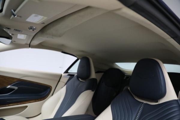 Used 2019 Aston Martin DB11 Volante for sale $209,900 at Maserati of Greenwich in Greenwich CT 06830 22