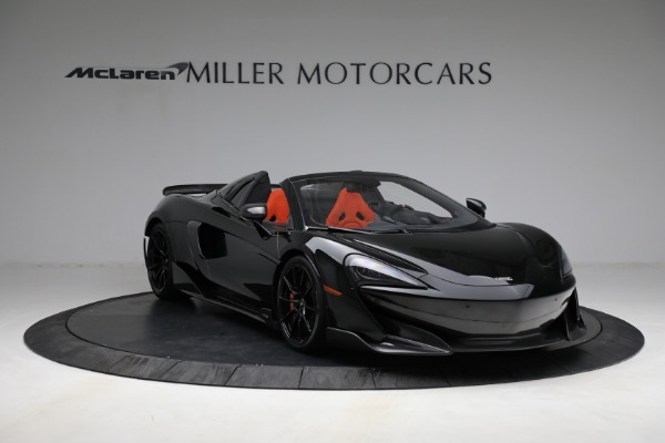 Used 2020 McLaren 600LT Spider for sale Call for price at Maserati of Greenwich in Greenwich CT 06830 11