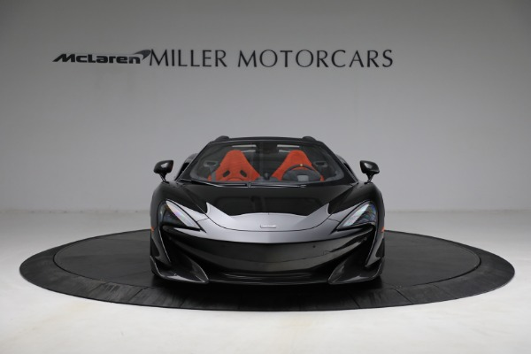 Used 2020 McLaren 600LT Spider for sale Call for price at Maserati of Greenwich in Greenwich CT 06830 12
