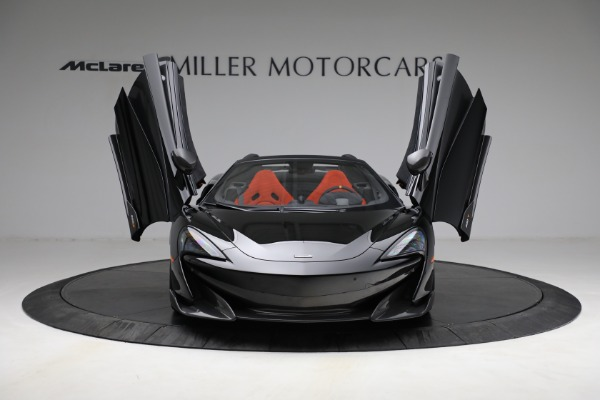 Used 2020 McLaren 600LT Spider for sale Call for price at Maserati of Greenwich in Greenwich CT 06830 13