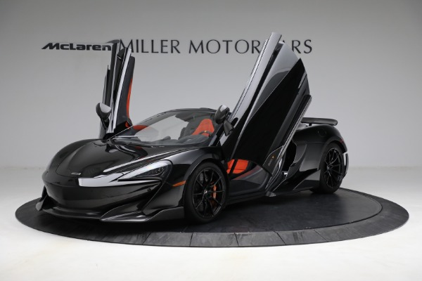 Used 2020 McLaren 600LT Spider for sale Call for price at Maserati of Greenwich in Greenwich CT 06830 14