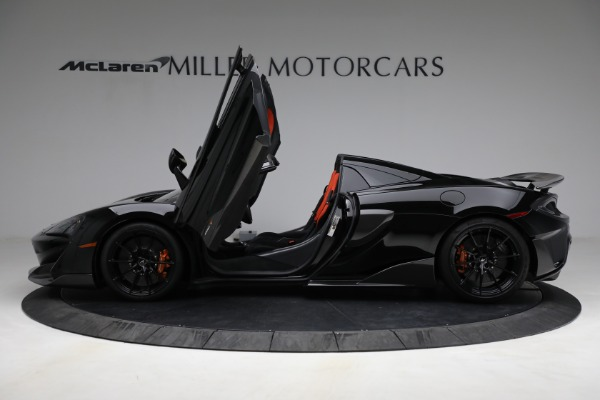 Used 2020 McLaren 600LT Spider for sale Call for price at Maserati of Greenwich in Greenwich CT 06830 15