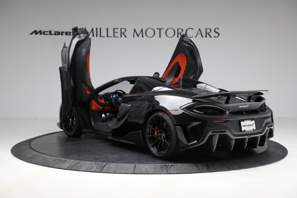Used 2020 McLaren 600LT Spider for sale Call for price at Maserati of Greenwich in Greenwich CT 06830 16