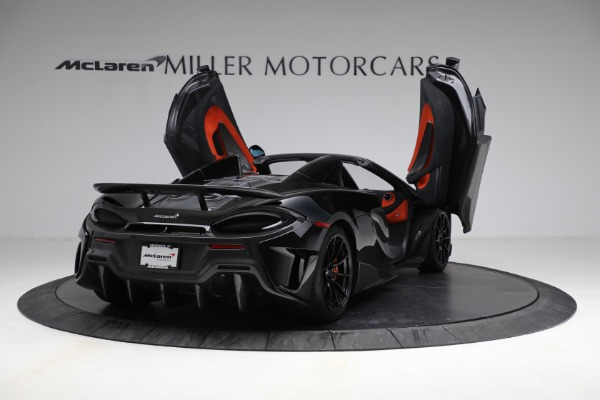 Used 2020 McLaren 600LT Spider for sale Call for price at Maserati of Greenwich in Greenwich CT 06830 17
