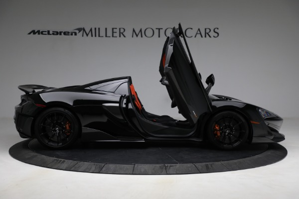 Used 2020 McLaren 600LT Spider for sale Call for price at Maserati of Greenwich in Greenwich CT 06830 18