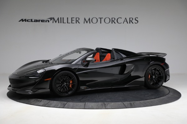 Used 2020 McLaren 600LT Spider for sale Call for price at Maserati of Greenwich in Greenwich CT 06830 2
